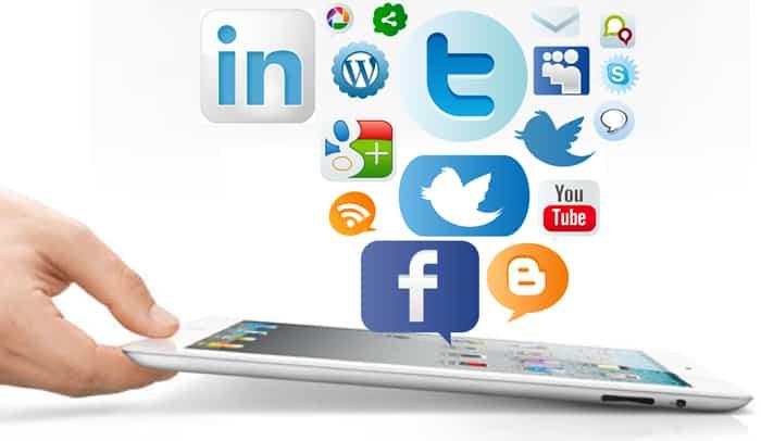 Conseguir visitas de las redes sociales