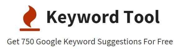 Planificador de palabras clave KeywordTool.io