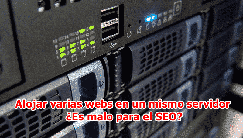 alojar varias webs en un mismo servidor seo
