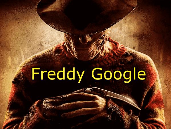 Google Fred, Freddy Google para los amigos