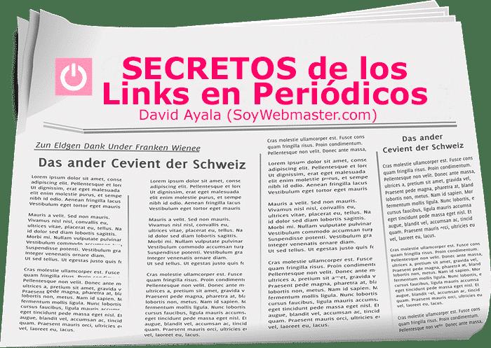 secretos de los links en periodicos
