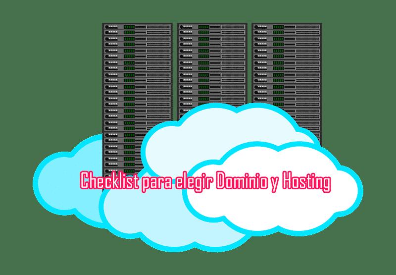 Checklist para elegir dominio y hosting