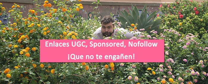 Enlaces UGC, Sponsored y Nofollow [QUE NO TE ENGAÑEN]