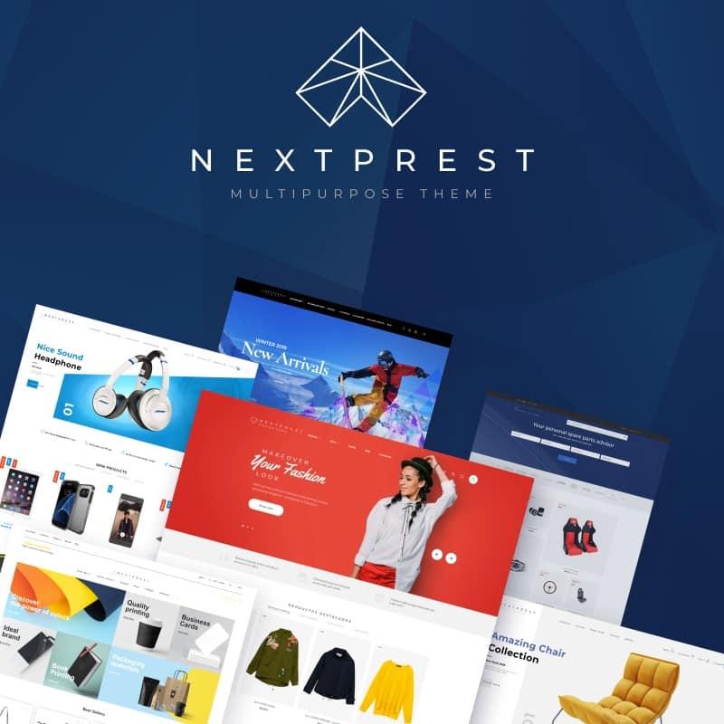 Tema De PrestaShop Nextprest - Amp Ecommerce