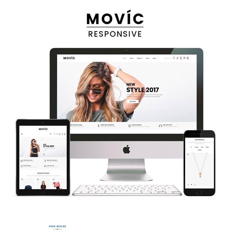Tema De PrestaShop Movic - Fashion