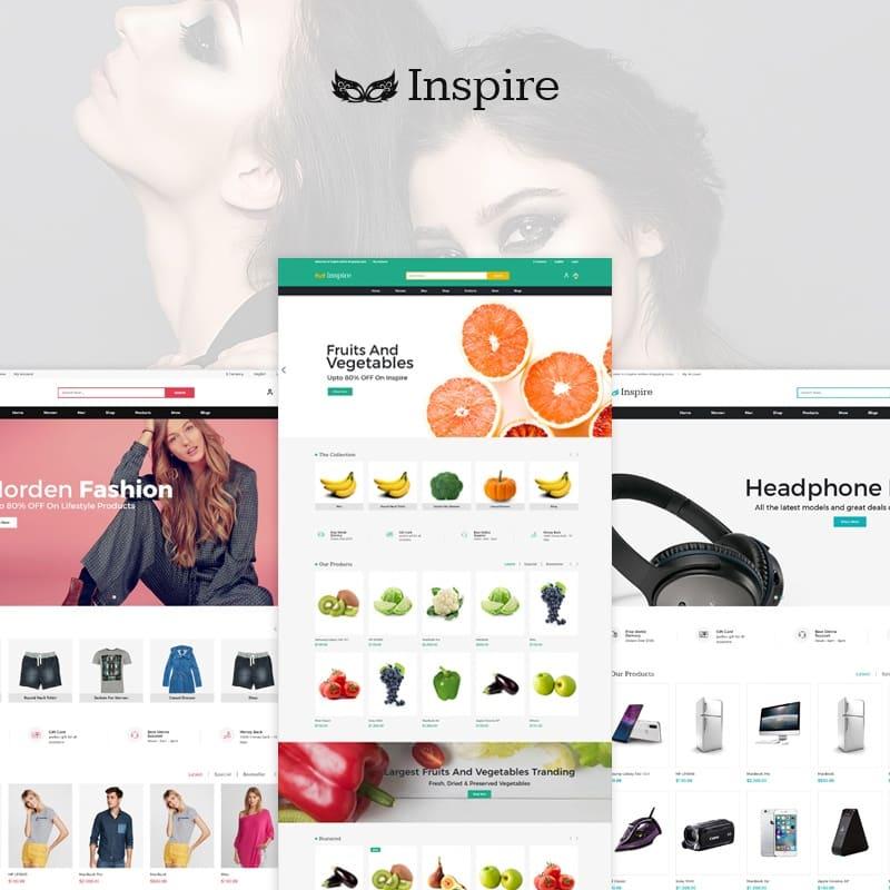 Plantilla OpenCart Inspire Multipurpose